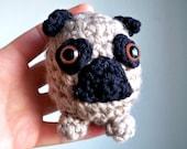 Mini Pug - Crochet