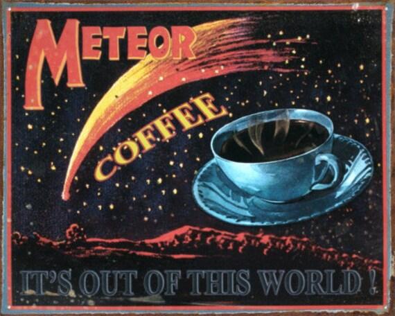 Coffee Vintage Metal Sign