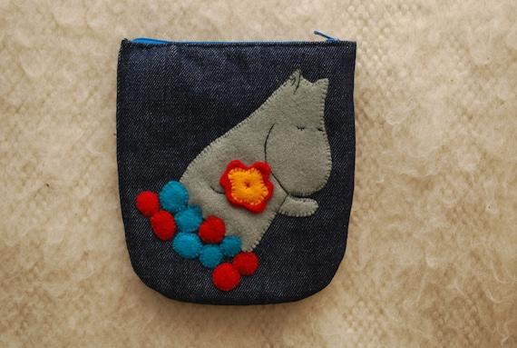 Moomin change purse