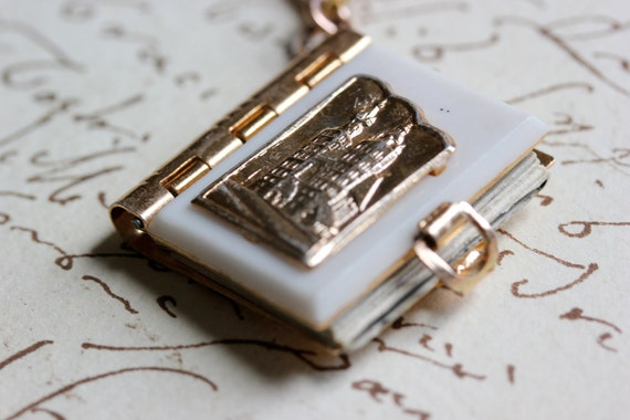 Krakow Book Necklace