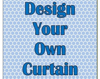 Design Your Own Customized Shower Curtain with your NAME, COLORS or MONOGRAM. Personalized designs made to Pamper Your Style.