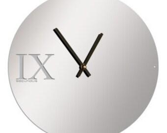 """Wall Clocks, Modern wall clock, Large wall clock, modern clocks, Clock,  """"Mirror"""" M1"""