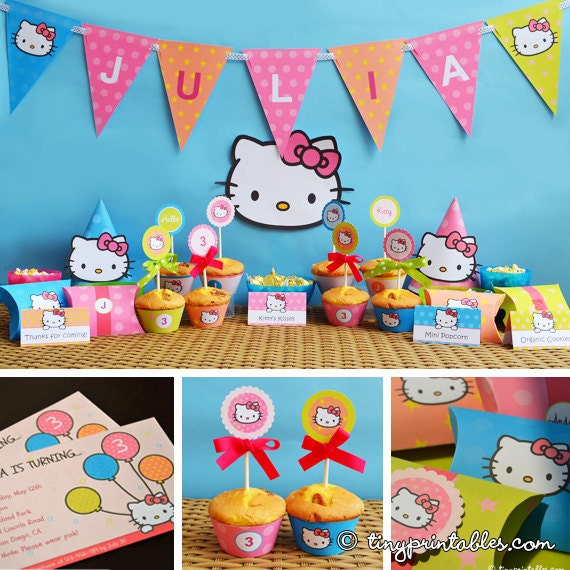 Hello Kitty Birthday Printable Hello Kitty Party Printables – Hello Kitty Party Invitations Printable