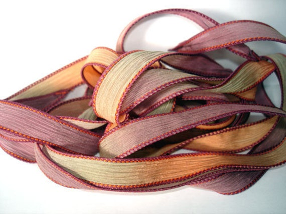 Withering Rose 42 inch silk ribbon By Color Kissed Singles