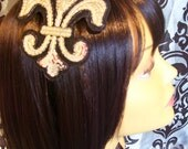 Black & Gold Sequined Headband