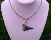Custom Bird Necklace or Earrings