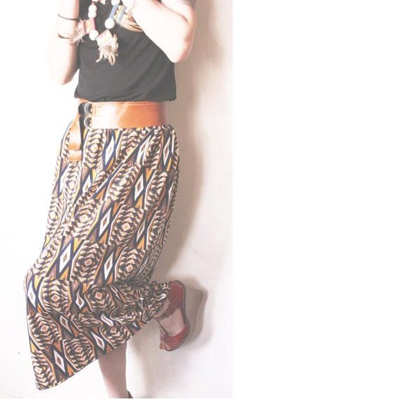 """The """"Martha"""" maxi skirt  ( XS - S ) ( one available)"""
