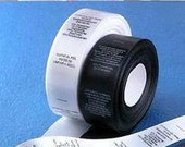 1000 pcs custom labels, custom satin labels, printed label, fabric label clothing label (Text only) with your artwork
