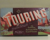 Parker Brothers 1947 Touring Card Game