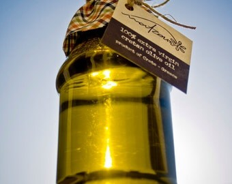 Olive Oil, 100% Pure Extra Virgin Olive Oil of Crete - GREECE