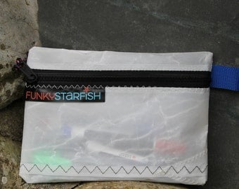 Funky Starfish Sailcloth Pencil Case