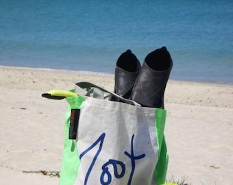 Funky Starfish Sailcloth Beach Bag