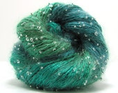 Beaded and Sequin Mohair Yarn by Artyarns