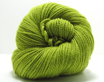 SALE - Staccato Sock Yarn in Green Apple by Shibui Knits