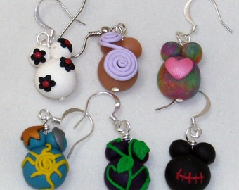 PREGNANT BELLY Earring  Choose any 2 mix or match  Clip on available