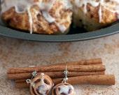 Cinnamon Roll Earrings