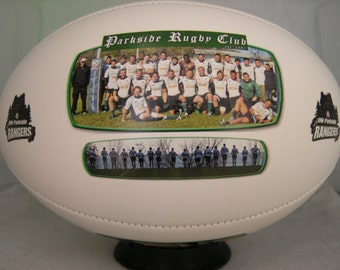 Photo Rugby Ball - Create YOUR personal fan ball