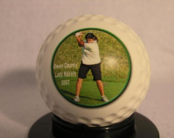 Photo Golf Ball - Create YOUR personal fan ball
