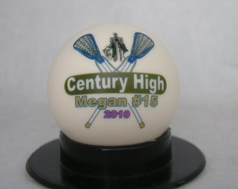 Photo Lacrosse Ball - Create YOUR personal fan ball