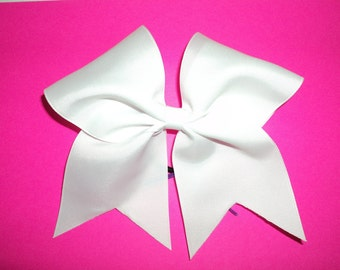 Solid White Bow