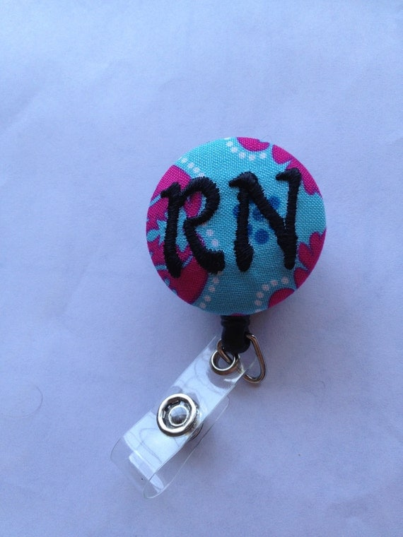Personalized ID Badge holder with retractable leash