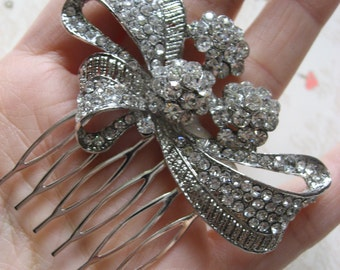 Love Louis sparkle rhinestones crystals wedding bridal hair comb, wedding hair comb, bridal hair comb, bridesmaids hair, hair accessory