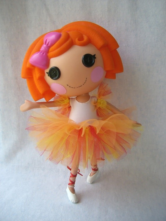 Lalaloopsy - Custom Tutu and Arm Ruffles - Made to Order - You Choose the Colors