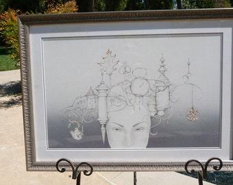 Fancy Filament Head Artwork