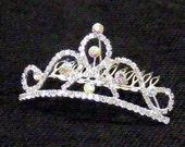 Crystal Tiara Wedding Comb