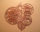 Dr. Who Gallifreyan Time Lord Seal Wall Art
