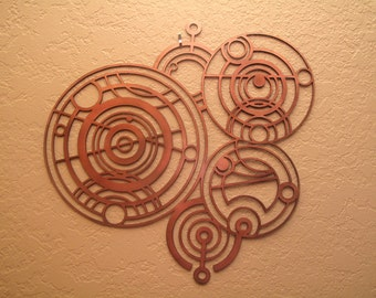 Dr. Who Gallifreyan Time Lord Seal Wall Art
