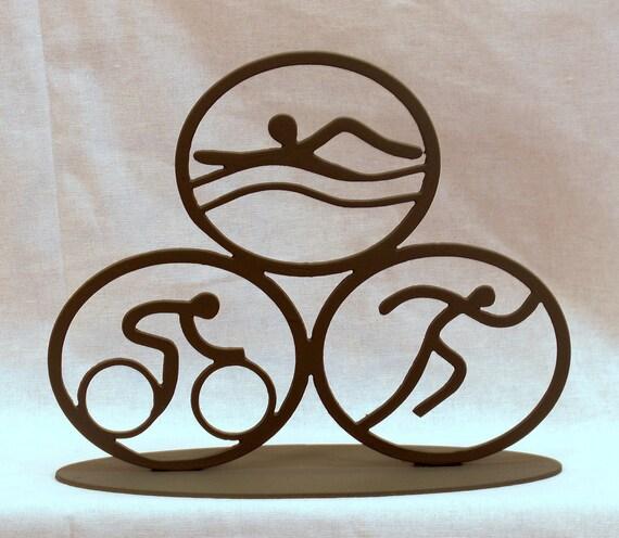 Triathlon Sculpture