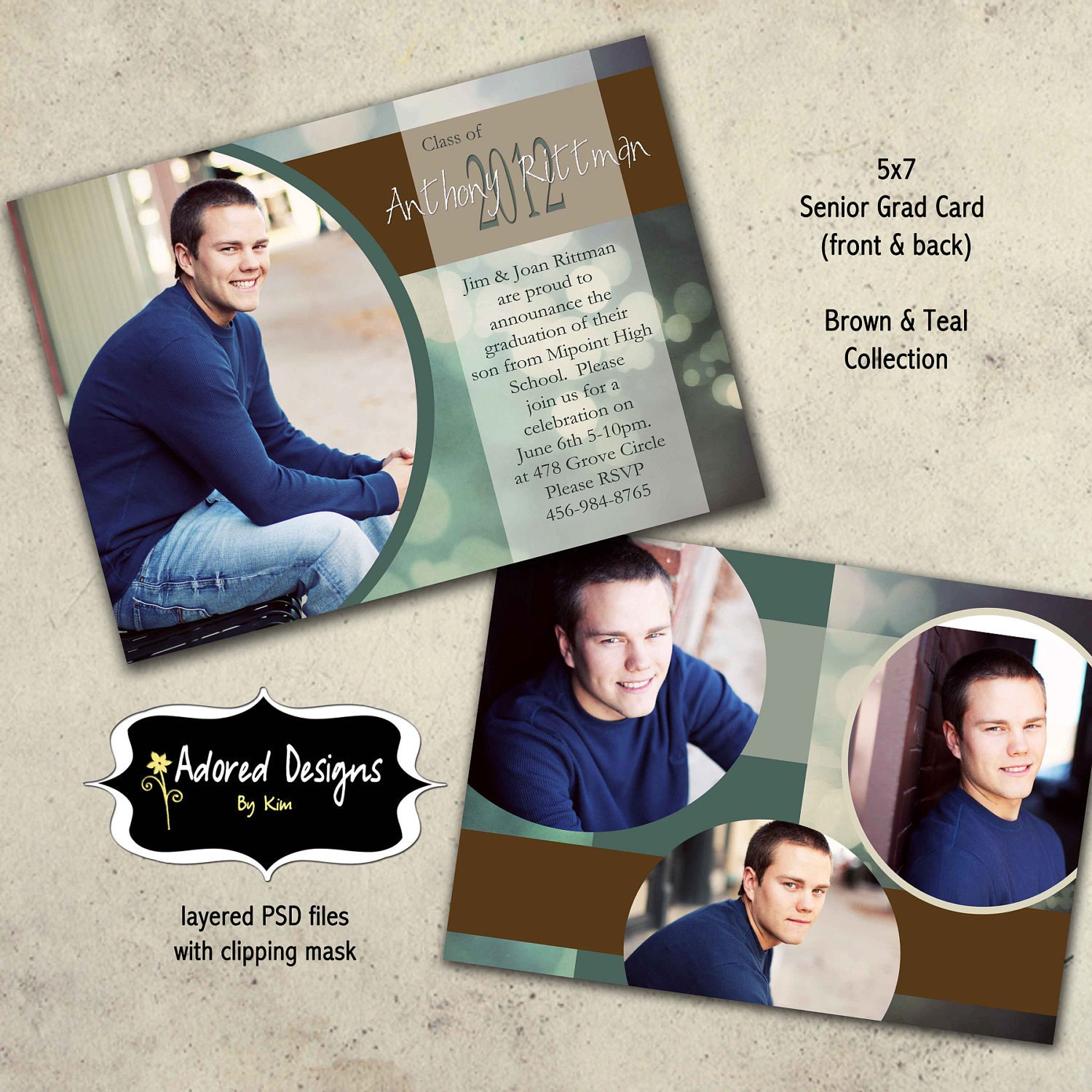 free senior templates for photoshop - graduation senior photo templates for photoshop one 5x7