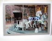 Tuileries Carrousel Photo Card