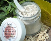 Grapefruit and Apricot Clay Face Mask Exfoliating for Oily, Acne Prone, All Skin Types