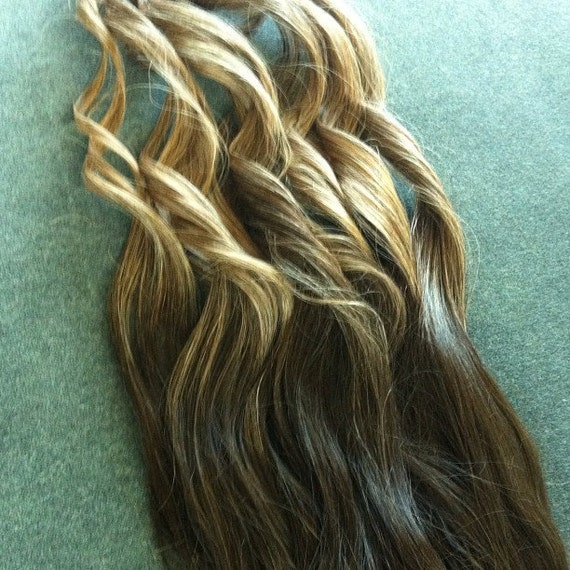 Custom Made OMBRE Clip-In Hair Extensions 15 by candimathis
