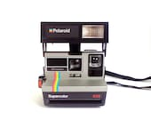 Vintage Polaroid Supercolor 635 with Case and Film Pack