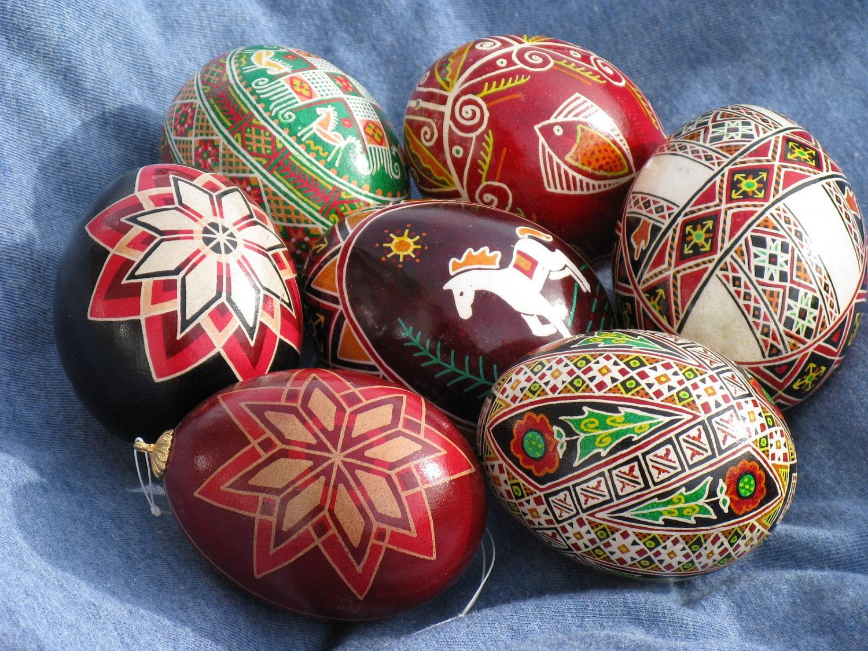 Traditional Ukrainian Egg Decorating Kit by ...