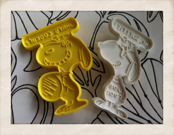 1958 Snoopy Cookie Cutter from United Feature Syndicated