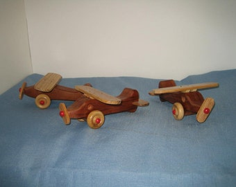 1 Small wooden Airplane