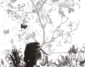 A Talk, Art by Cameo Olson, Cameoco, I love you Goodnight, Ancient folktales,