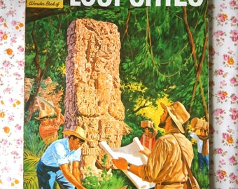 Vintage How and Why Wonder Book of Lost Cities
