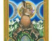 Spring Celtic Art Print