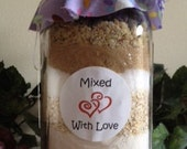 Chocolate Chip Oatmeal Cookies Mix in a Jar