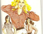 Early 1970s Kwik-Sew Blouse Patterns