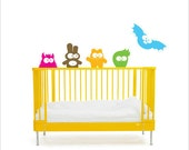 Creepy Creatures - Nursery wall decals - Fantasy wall Stickers for children