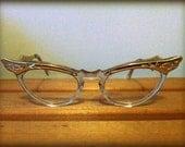 vintage cat-eye glasses