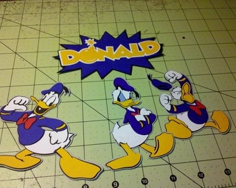 Donald Duck DIe Cuts
