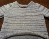 Unisex jumper hand knitted