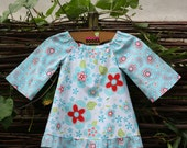 Sugar & Spice BABY GIRL DRESS  for your little cutie. Size 12-18 months. Long sleeves and bottom ruffle with matching design.